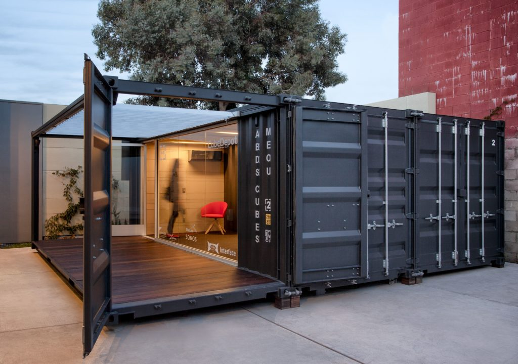 Small business mobile Storefront Container