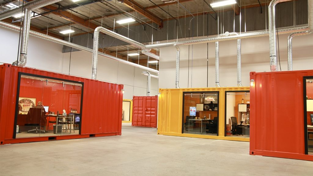 Mixed-use containers for small business